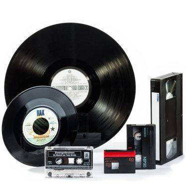Schallplatten, Audio- und Videokassetten bei photofactory in Dortmund digitalisieren