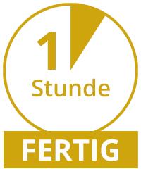 Fertig in 1 Stunde Photofactory Dortmund
