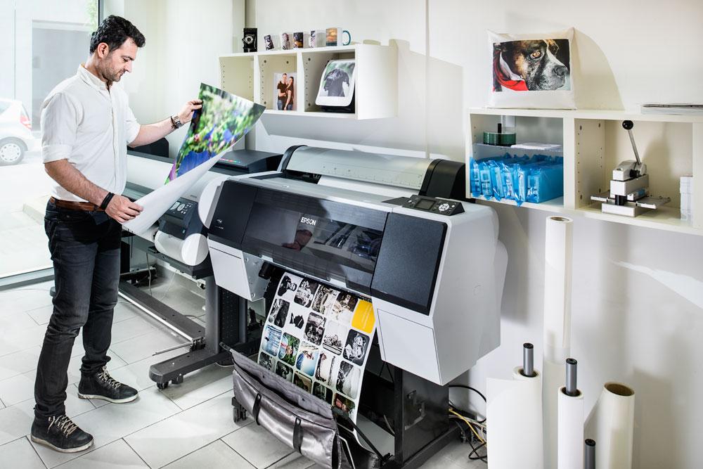 Großformat Druck auf Fotopapier bei Photofactory in Dortmund