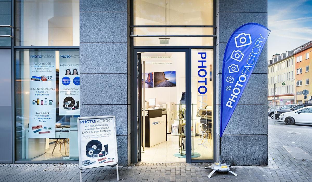 Photofactory Portraitstudio und Fotolabor in Dortmund. Foto Dietrich Hackenberg