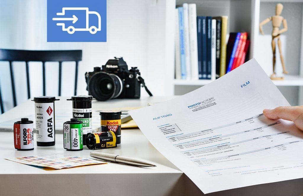 Postauftrag Photofactory Dortmund. Foto Dietrich Hackenberg, Icon Gregor Cresnar
