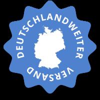deutschlandweiter Versand